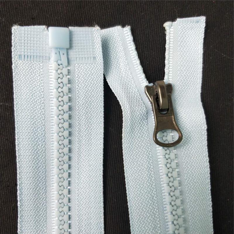 ZHENGWEN Dây kéo nhựa Nhà sản xuất cung cấp số 3 nhựa số 5 khóa kéo tùy chỉnh 襟 xuống áo khoác dây k