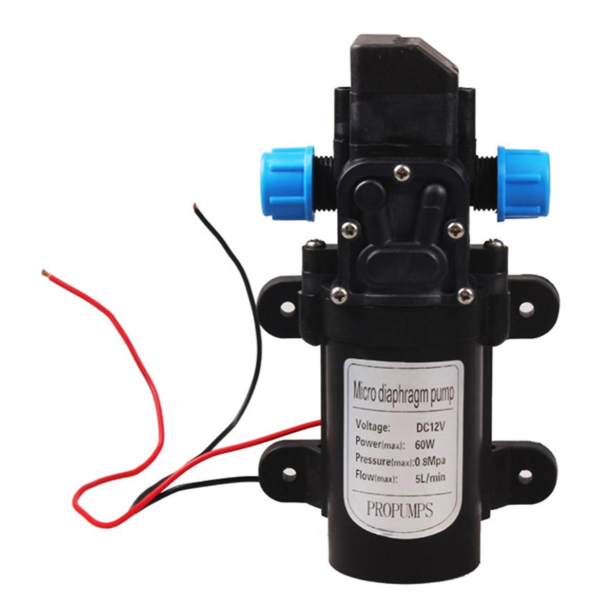 Máy bơm nước cao áp mini 12V-60W