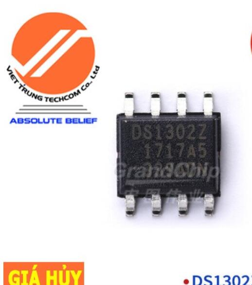 Chíp IC DS1302ZN+T-R IC Chip