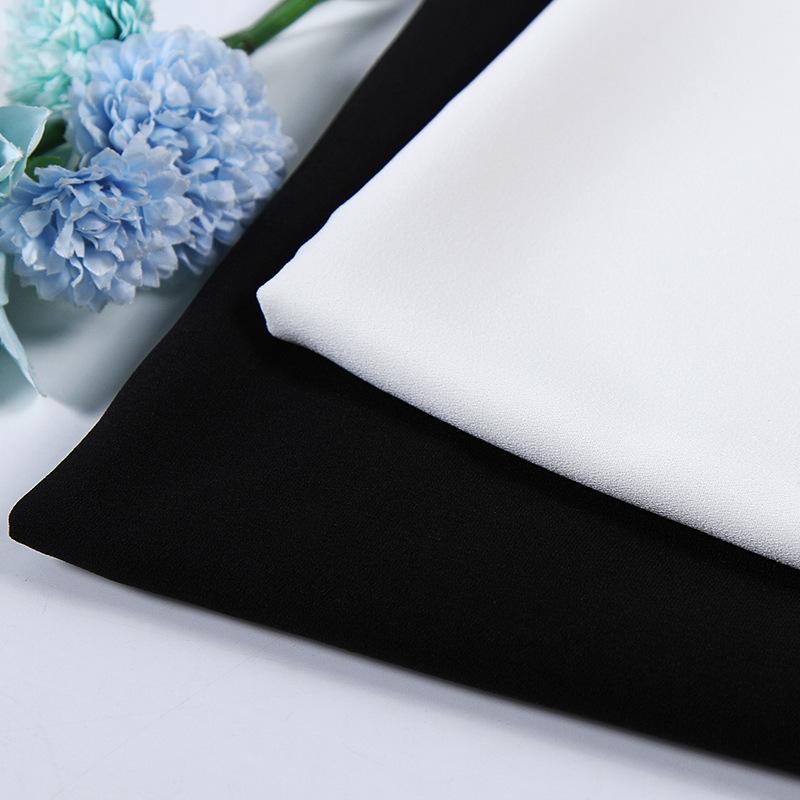 Vật liệu tổng hợp Vải voan lụa tổng hợp một lớp áo không thấm nước váy váy