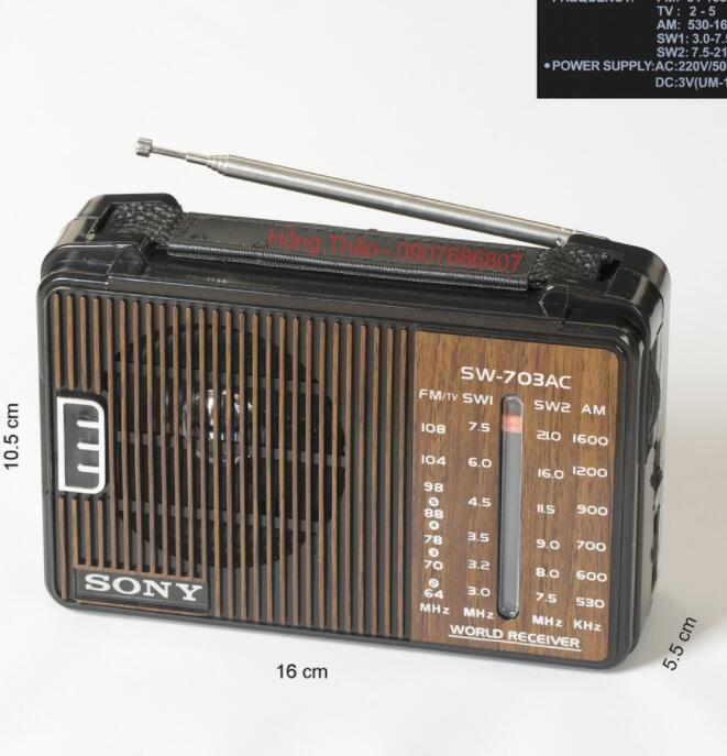 Máy Radio - SW 703