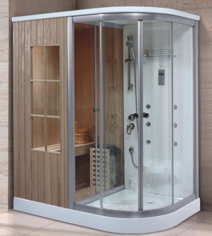 Phòng tắm xông hơi sử dụng kép phòng làm đẹp sang trọng .