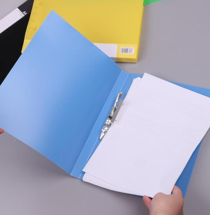 Bìa tài liệu Bìa Kẹp Tài Liệu Nhiều Màu Sắc Dành Cho Văn Phòng Và Trường Học