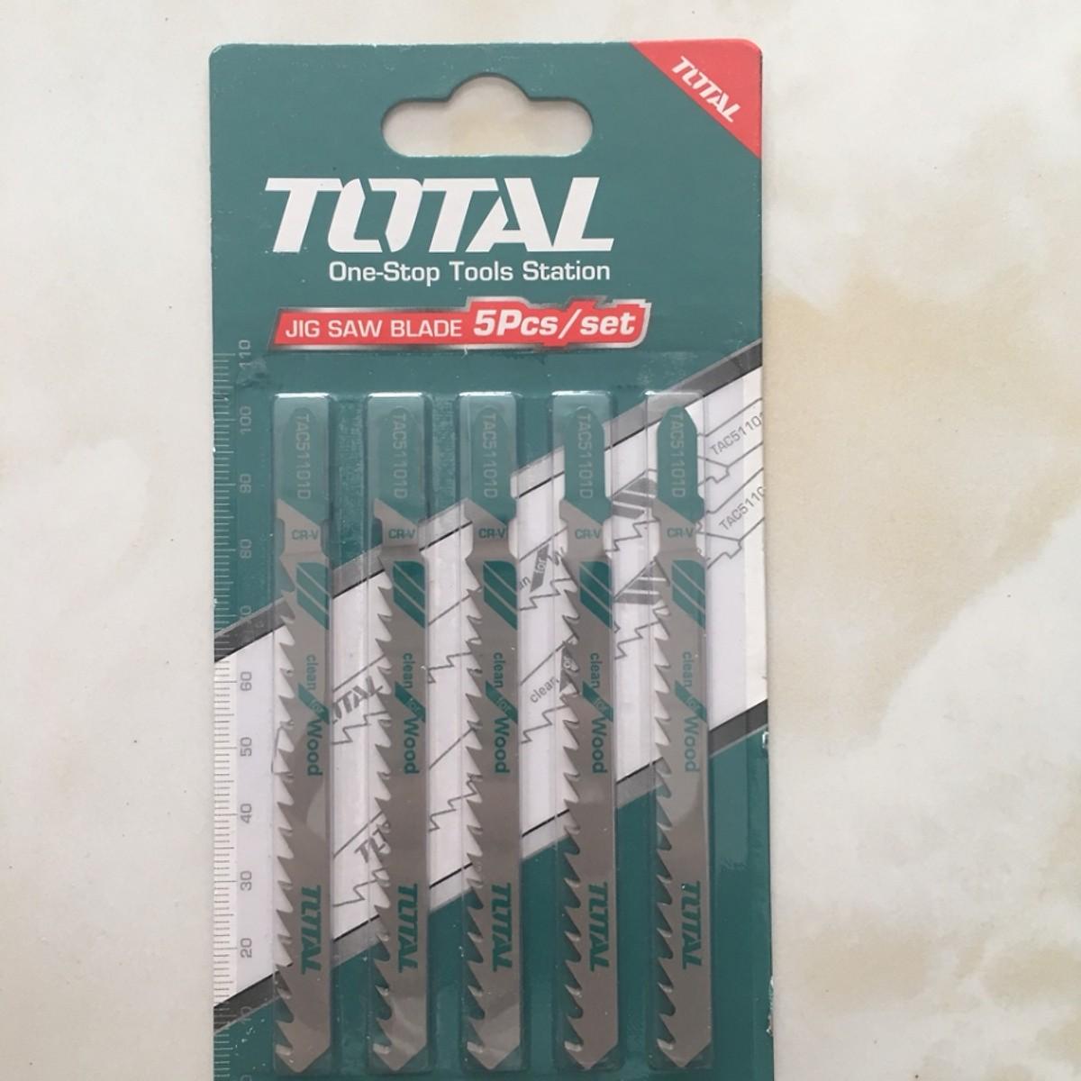 Bộ 5 lưỡi cưa lọng (Cưa gỗ) Total - TAC51101D