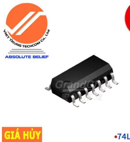 Chíp IC 74LS04DR SMD 74 Chip IC