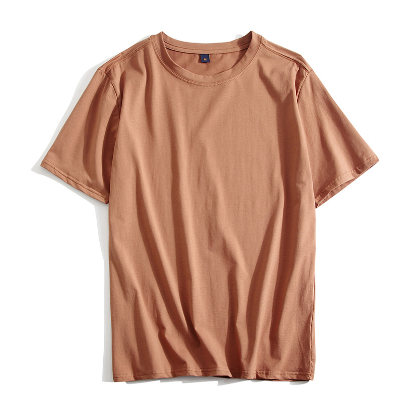 YIBAOLU Áo thun Mùa hè nhà sản xuất mới nam áo thun cotton cổ tròn tay ngắn trống cỡ lớn 300 pounds