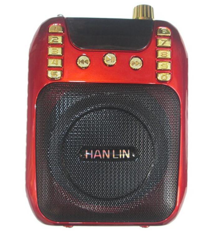 Máy Radio Máy trợ giảng gắn eo 179 chức năng nghe radio, tự động dò đài, thu âm với một nút bấm SP10