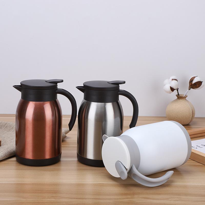YIRU Ấm,bình đun siêu tốc Factory direct stainless steel coffee pot home daily insulation kettle sim