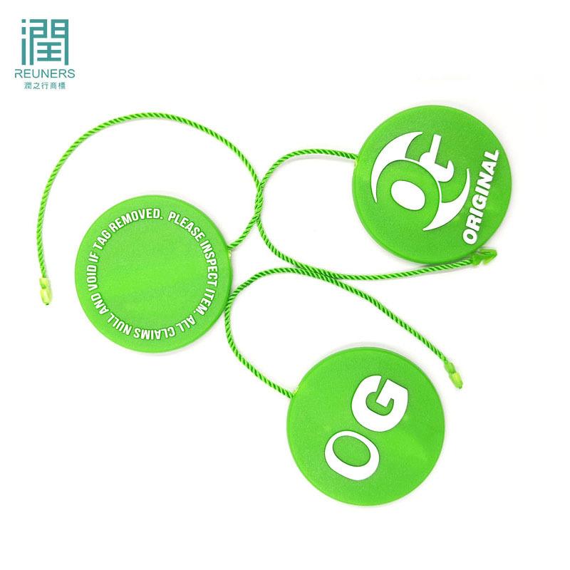RUNZHIXING Chuỗi tag , Tag logo Các nhà sản xuất sản xuất các hạt cắm đơn vòng tròn bằng sợi polyest