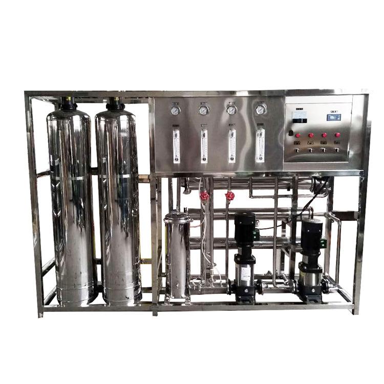 HUAYUAN Dụng cụ y khoa Thiết bị y tế làm sạch thiết bị nước tinh khiết 304 thép không gỉ nửa tấn thi