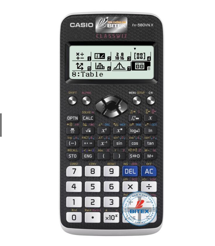 Máy Tính Casio FX-580VN X - Tặng Kèm Sổ Tay