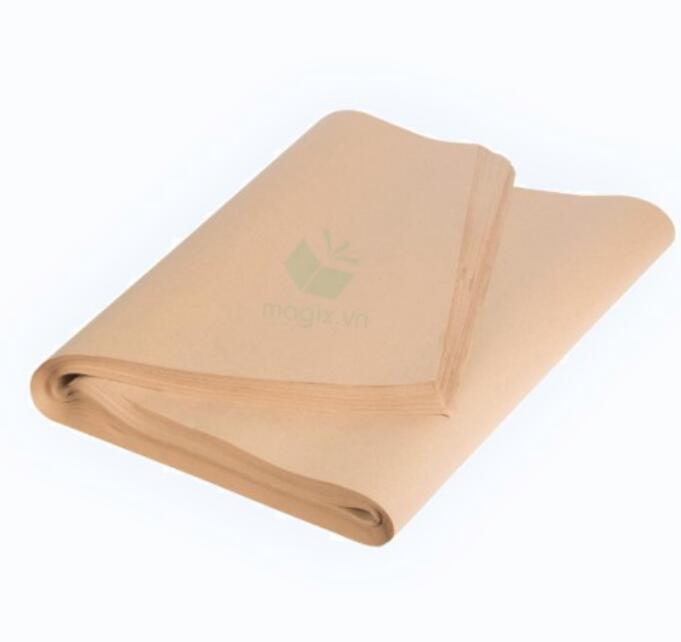 Túi giấy 50 Tấm Giấy Kraft (Xi Măng) Gói Hàng - MGK1 - 70x70 Cm