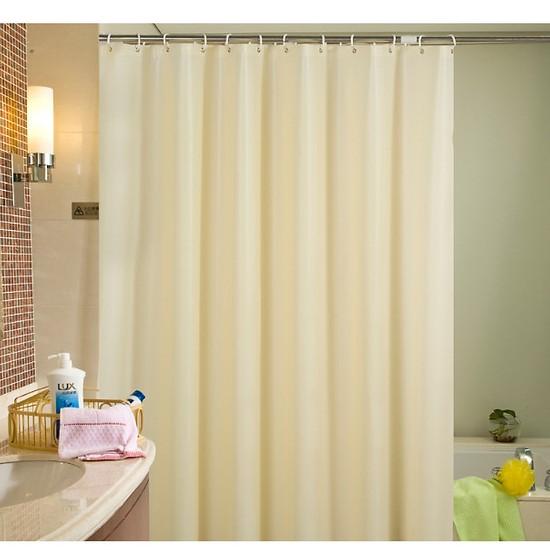 Rèm Phòng Tắm / Rèm Cửa Sổ Trằng Kem 180cm X 180cm