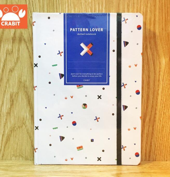 Sổ tay ruột Dot Crabit Notebuck - X trắng
