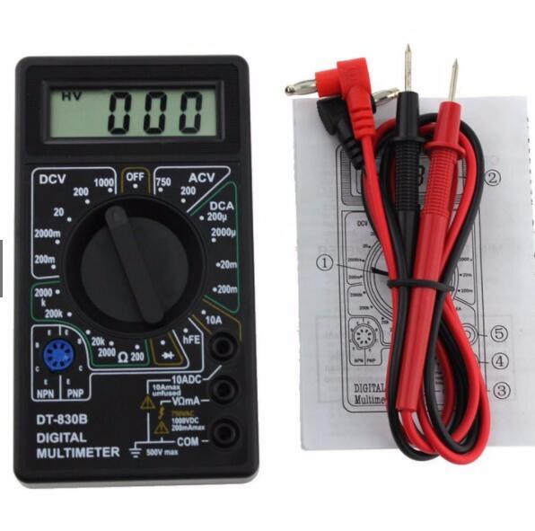 Đồng hồ đo điện Đồng hồ đo vạn năng cho thợ điện tử DT-830B D00-061