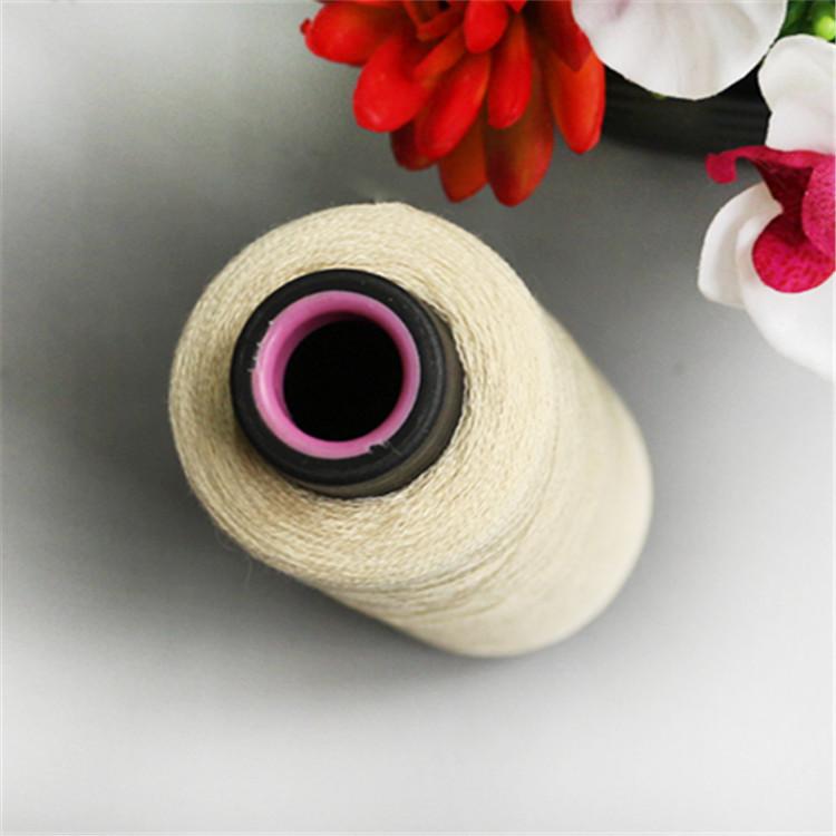 Sợi pha , sợi tổng hợp Nhà máy sợi polyester pha viscose trực tiếp 1 / 38NM sợi polyester dệt tại nh