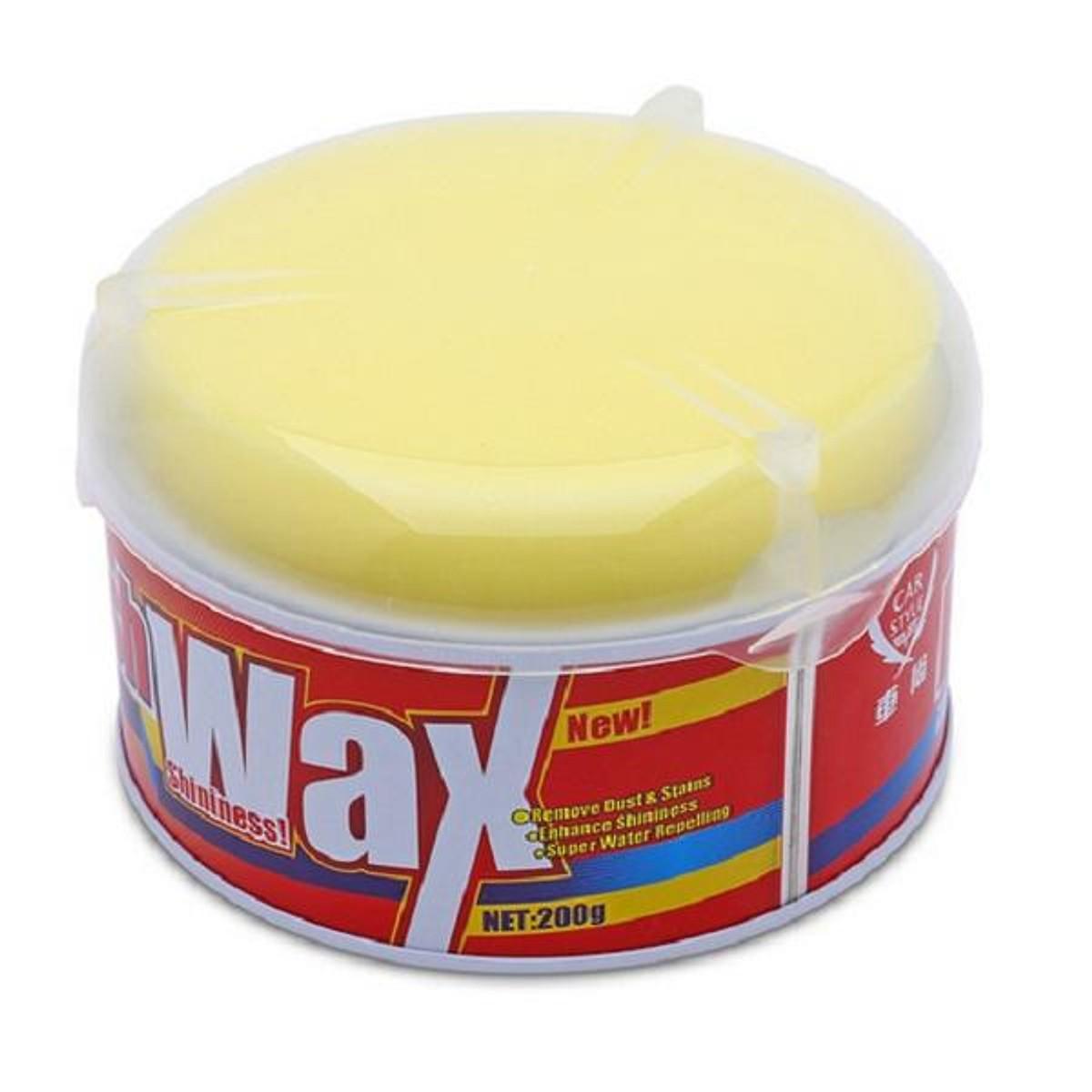 Sáp Đánh Bóng Và Phục Hồi Sơn Ô Tô Xe Máy Polish Wax 200g (Vàng)