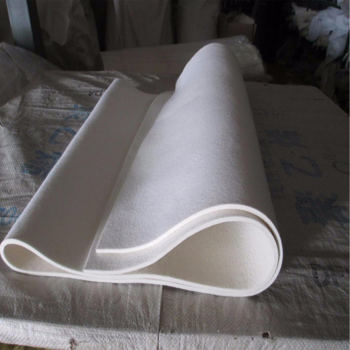 XINGCHEN thảm lông Cung cấp len trắng mịn công nghiệp như một vật liệu sinh thái tự nhiên để chống s