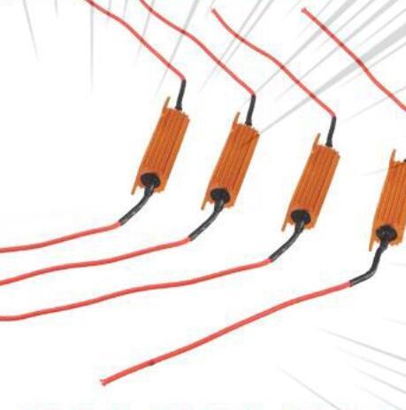 điện trở tải tín hiệu đèn xi nhan cho ô tô 50W 6ohm