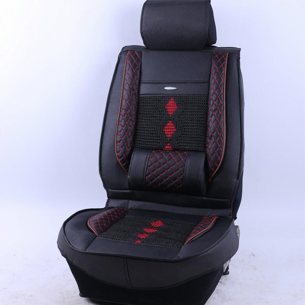 Bọc áo ghế da ô tô cao cấp bản tiêu chuẩn cho ghế lái - Kèm gối tựa lưng ghế xe hơi đẳng cấp