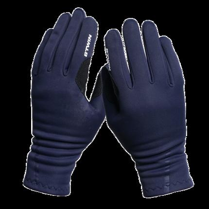 Trang phục xe đạp  Decathlon cưỡi găng tay ngón tay dài nam nữ mùa xuân và mùa thu ấm áp đệm thiết b