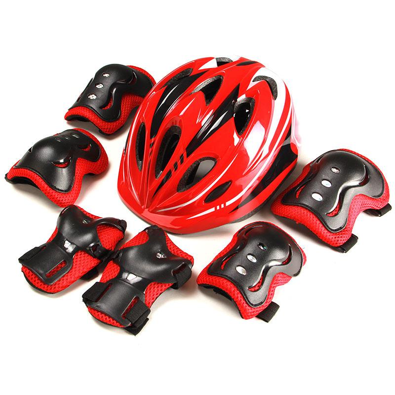 KS Mũ bảo hiểm xe đạp Các nhà sản xuất thế hệ xuyên biên giới bán buôn thiết bị bảo vệ trẻ em 7 mảnh