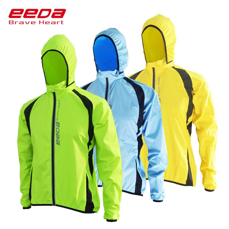 Eedabros Trang phục xe đạp Áo khoác đi xe đạp không thấm nước phù hợp với xe đạp áo gió áo khoác rắn