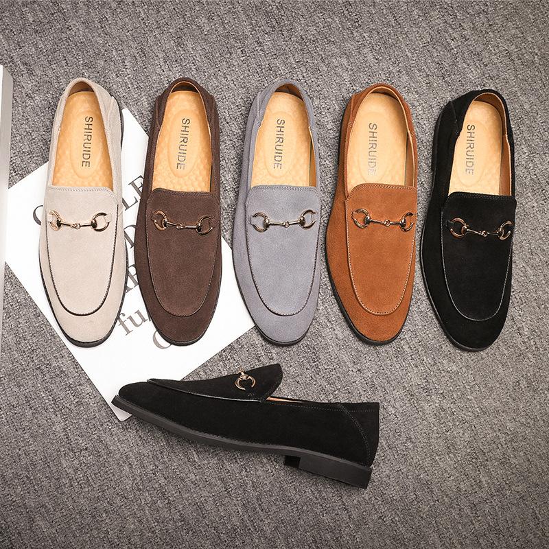DIWEISHANG Giày mọi đế thấp Giày lái xe, bàn đạp, giày thủy triều, ngoại thương nam, Taobao, một thế
