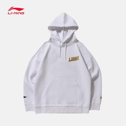 Sweater (Áo nỉ chui đầu)  Li Ning Wei quần áo nam CBA mới bóng rổ loạt áo thun trùm đầu mùa hè lỏng