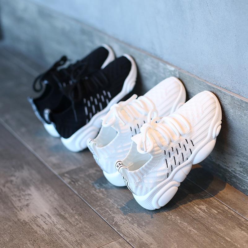 JTGZ Giày lưới trẻ em 2019 mẫu xuân hè dành cho bé trai Giày thể thao nam bình thường