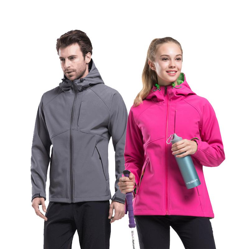 Lót nỉ Soflshell Nhà sản xuất bán buôn ngoài trời ấm vỏ mềm quần áo áo khoác lông cừu vài mẫu áo kho