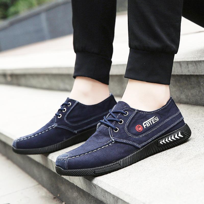 LDXY Giày lười / giày mọi đế cao Nhà máy bán buôn 2019 xuân mới xu hướng thời trang giày nam giản dị