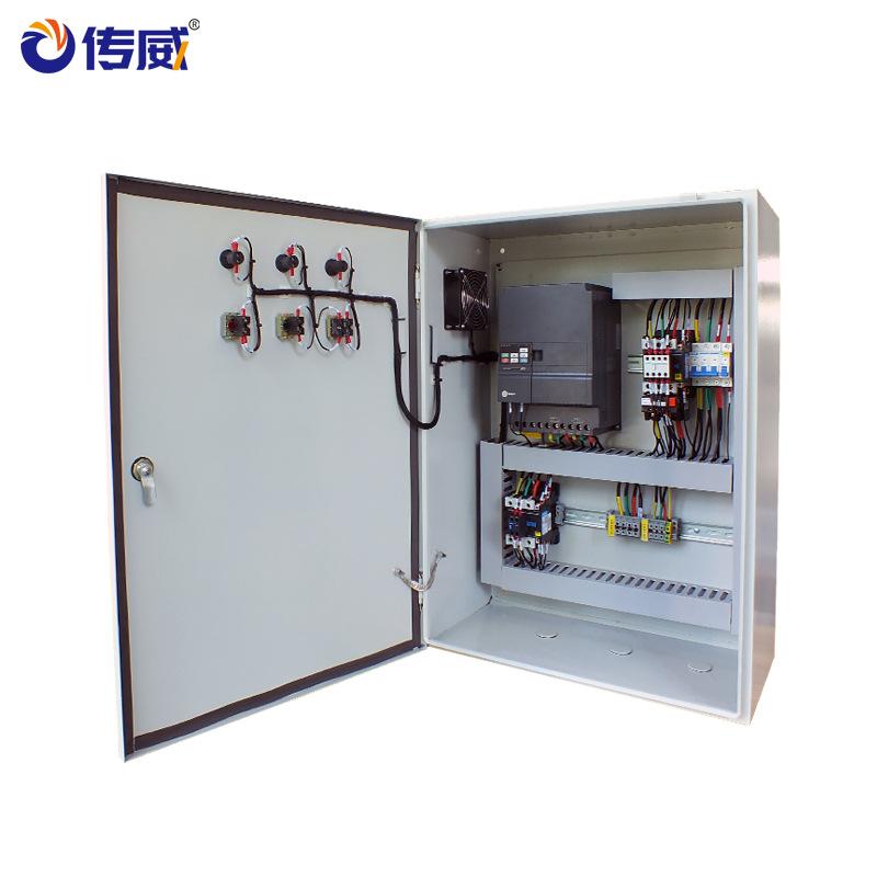 Chuanwei Thiết bị điện điện hoàn thành thiết bị phân phối tủ điều khiển tủ nước bơm điều khiển tần s