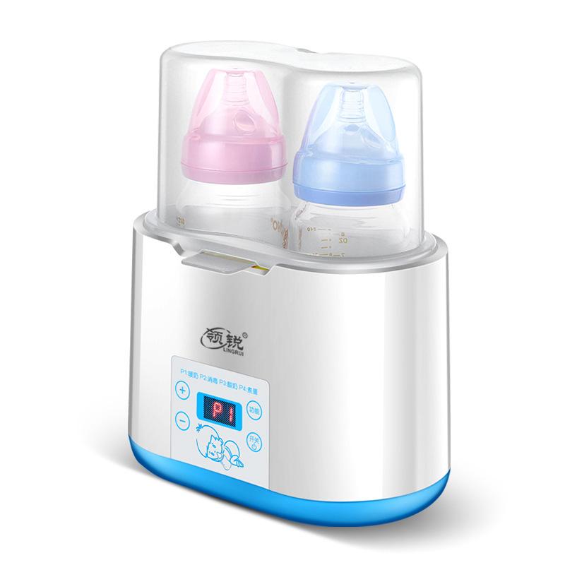 LINGRUI Máy giữ ấm sữa Đa chức năng ấm sữa cho bé bình sữa tiệt trùng bình sữa tự động nhiệt độ khôn