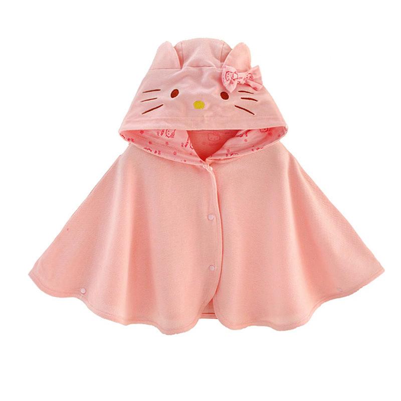 ANBLOO Áo choàng trẻ em Quần áo trẻ em cho bé gái mùa xuân và mùa thu khăn choàng áo choàng lưới áo
