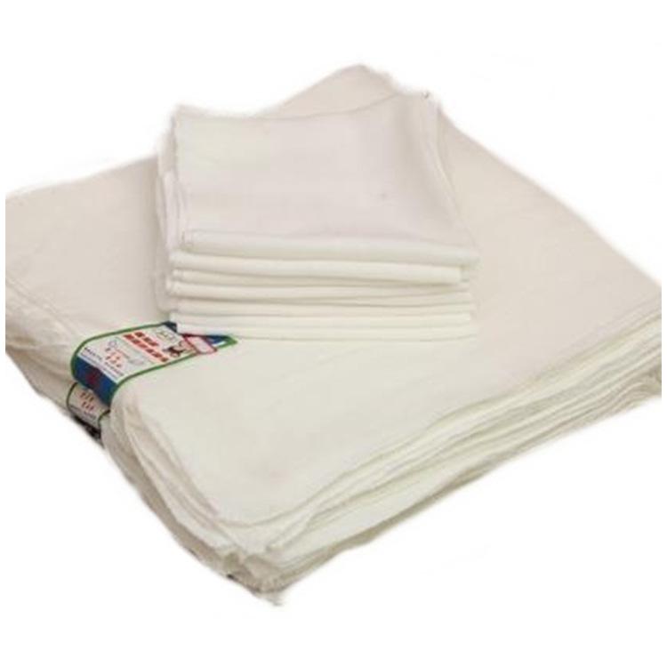 GUANJI Tả vải Gạc nhà sản xuất bán buôn tã trẻ em có thể giặt được em bé skim sợi bông trắng tã sơ s
