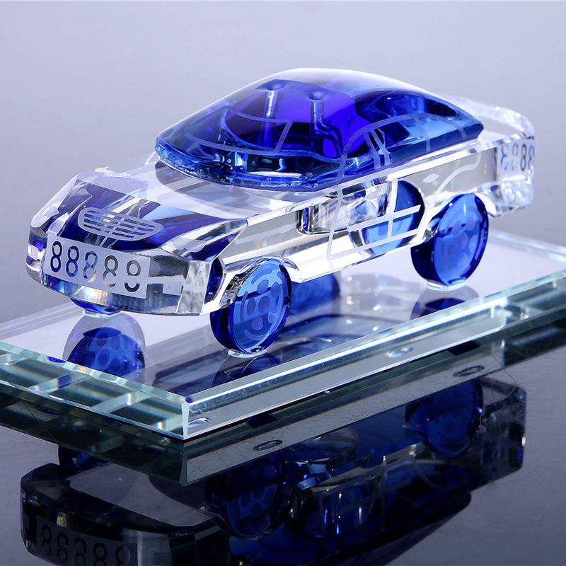 BOYE nước hoa Thời trang Crystal Craft Xe Trang trí Xe Hương Pha lê Mô hình Xe Hương Trang trí Xe