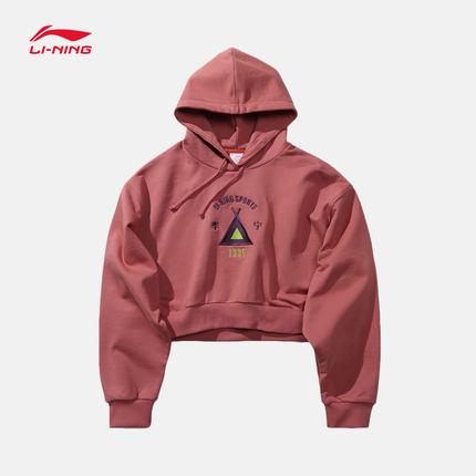 Sweater (Áo nỉ chui đầu)  Li Ning Trung Quốc Li Ning 2019 Tuần lễ thời trang New York Dòng áo hoodie