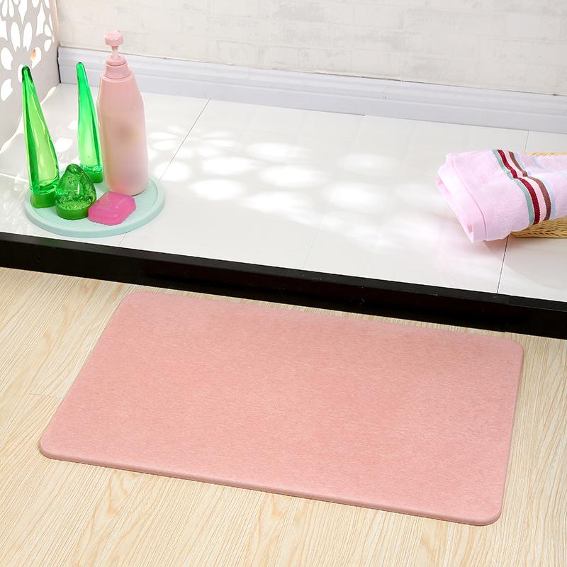 KANGBAOLAN Đệm chân Xuyên biên giới chuyên dụng đất diatomaceous mat phòng tắm thấm mat bán buôn Nhậ