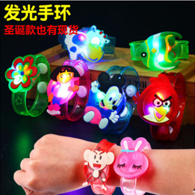 JIEHSUO Đồ chơi phát sáng Mới flash dạ quang trẻ em LED đồ chơi quà tặng đồ trang sức bán buôn phim