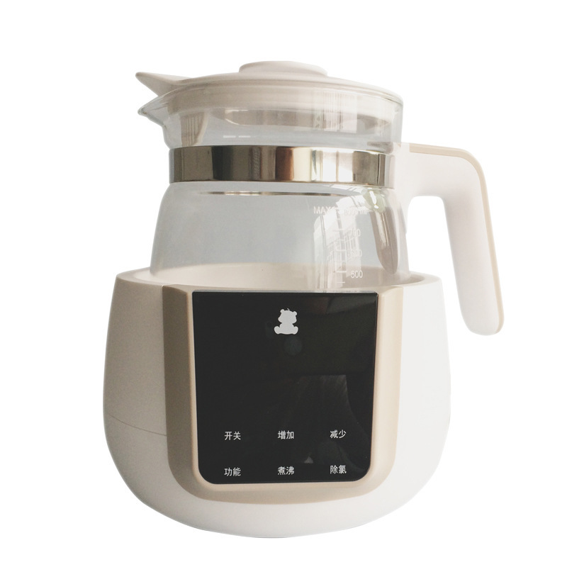 XIAOBAIXIONG Máy giữ ấm sữa Bình sữa gấu trắng nhỏ ấm sữa máy sữa bột máy nhiệt độ không đổi ấm đun