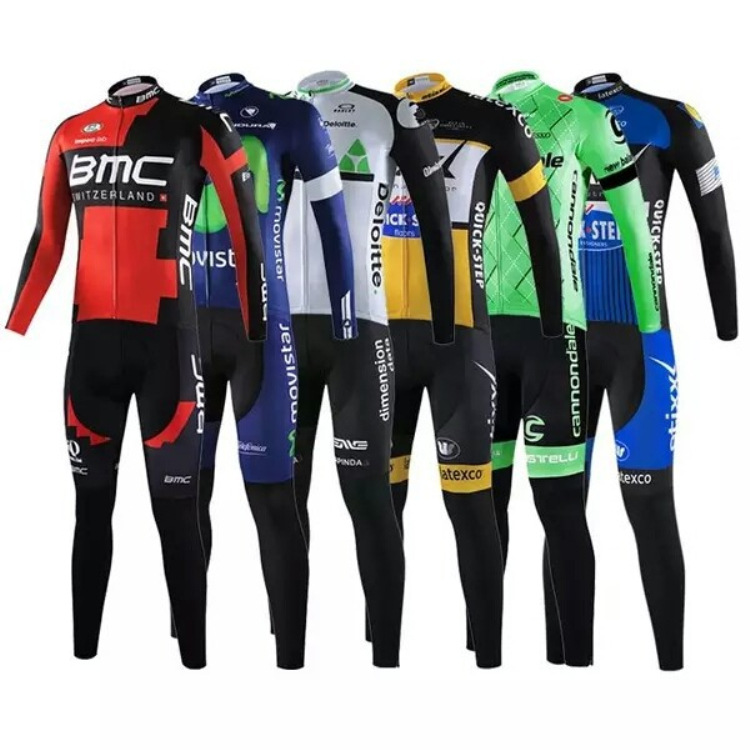 EXPLOSILVA Trang phục xe đạp Nguồn cung cấp trực tiếp xuyên biên giới đội đua xe đạp Jersey dài tay