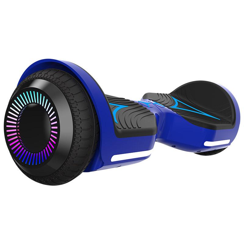 Xe điện 2 bánh tự cân bằng Cân bằng thông minh xe hai bánh 6,5 inch suy nghĩ âm nhạc du lịch flash h