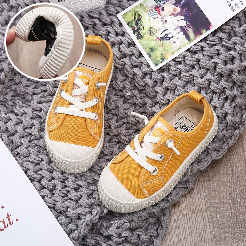 LDXY giày vải Spot 19 mùa xuân mô hình vụ nổ mềm dễ thương giày bánh quy trẻ em giày vải cô gái đàn