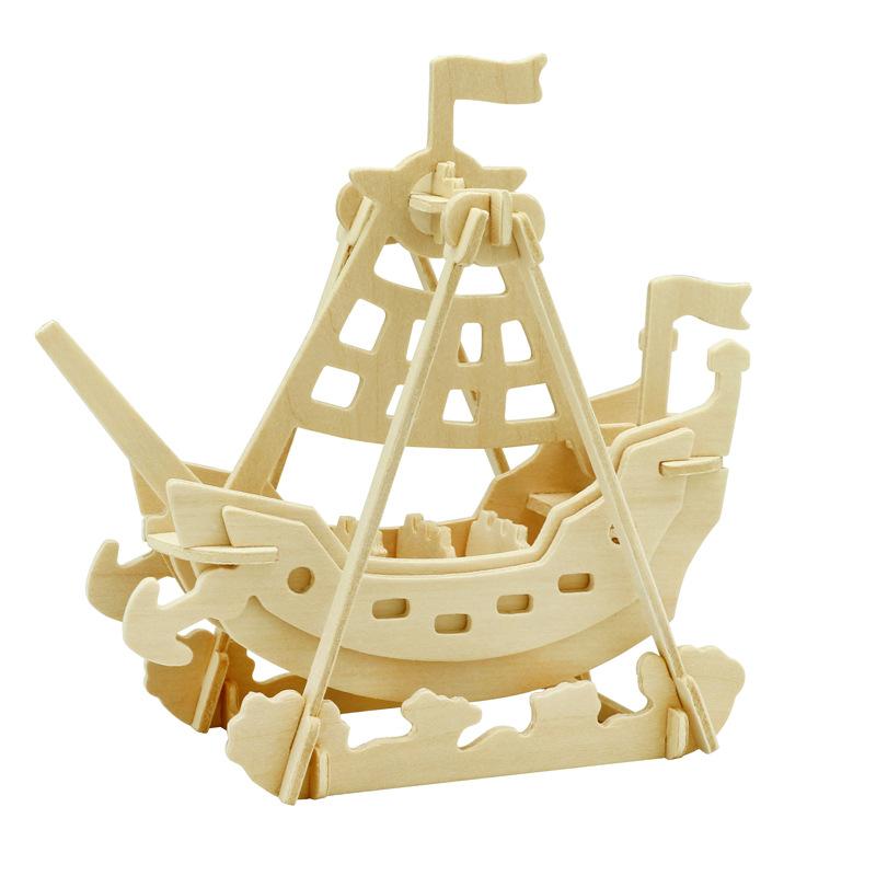 Robotime Đồ trang trí bằng gỗ Nếu nhà nước sáng tạo quà tặng thủ công bằng gỗ quà tặng tự làm đồ tra