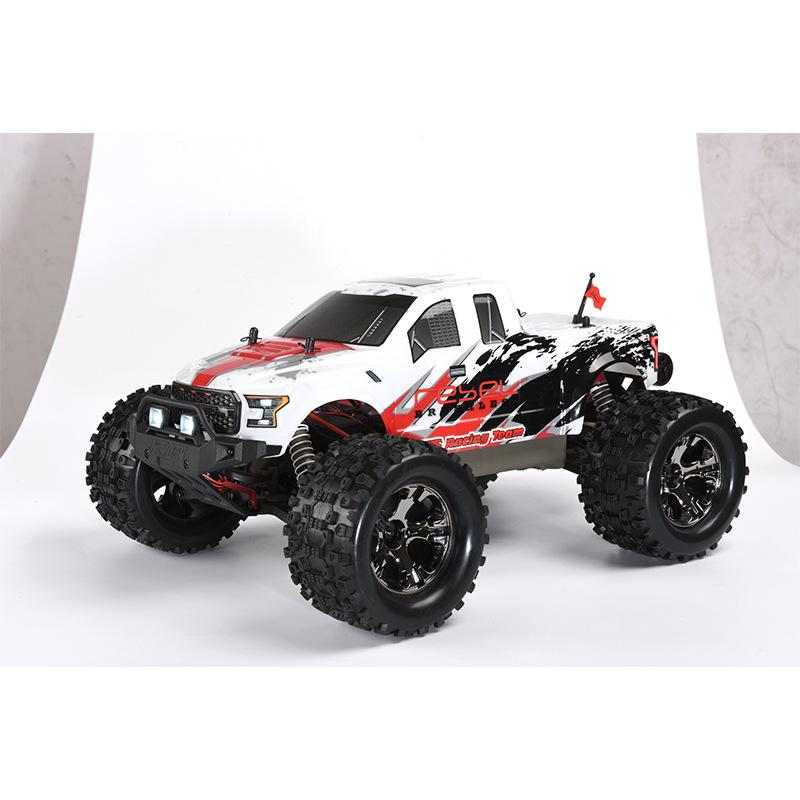 Xe điều khiển từ xa 1/10 xe tải không chổi than lái xe bốn bánh từ xa tốc độ cao mô hình xe đồ chơi