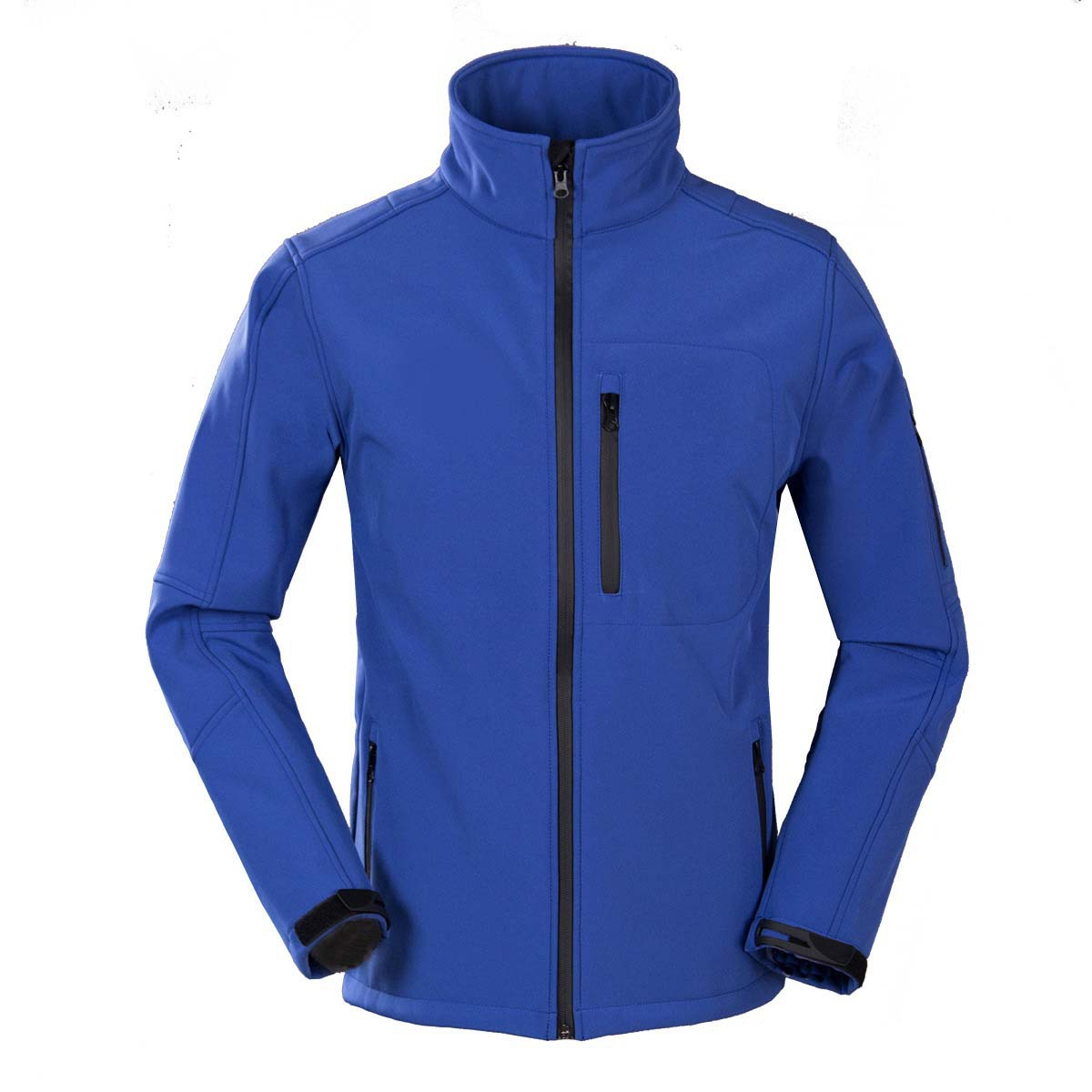 Lót nỉ Soflshell Nhà máy trực tiếp vỏ mềm quần áo nam lông cừu một lớp áo mỏng làm việc quần áo nhà