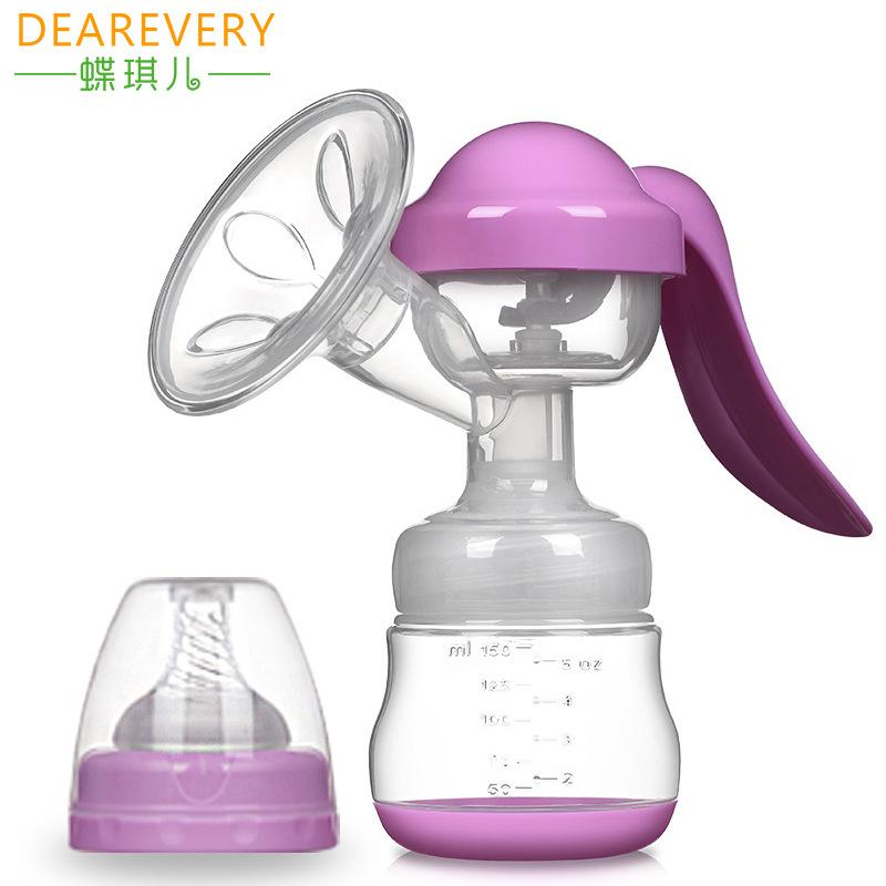 DIEQIER Bình hút sữa Hướng dẫn sử dụng máy hút sữa bướm Qier xi lanh lớn sữa vắt sữa mẹ vắt sữa prol