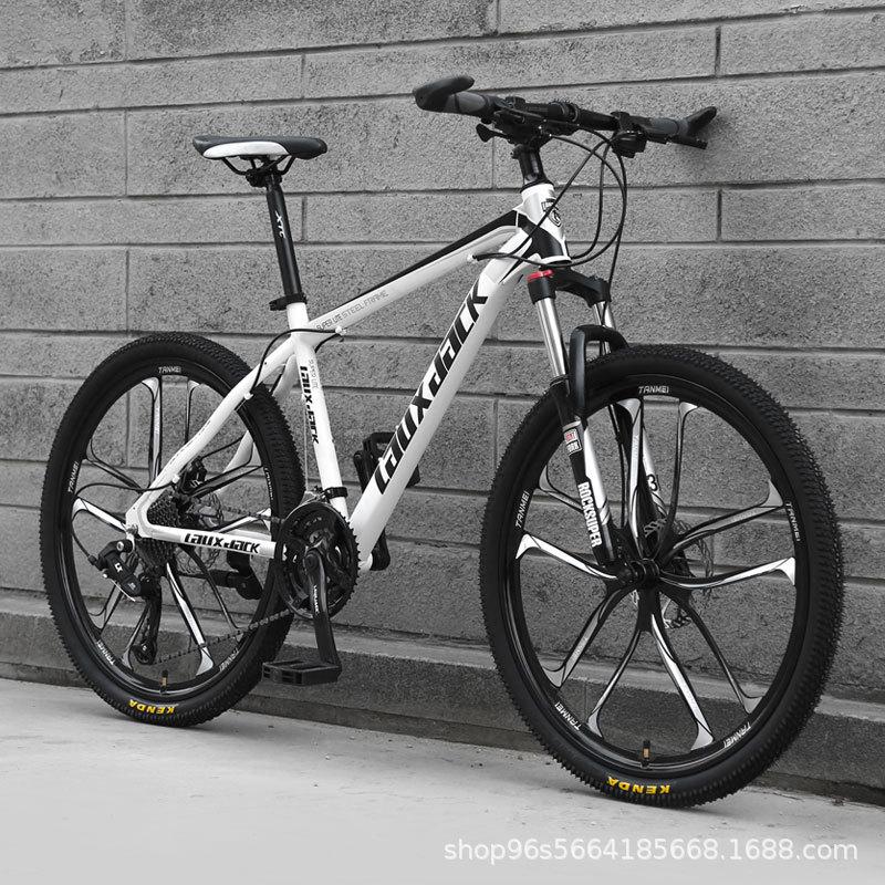 Lauxjack Xe đạp leo núi dành cho người lớn 26 inch 27/30 đĩa dầu tốc độ một bánh xe đạp địa hình tốc