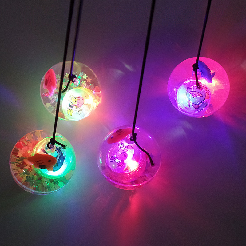 Đồ chơi phát sáng Bán đồ chơi nóng 5,5 dây nhấp nháy bóng bouncy bóng pha lê bóng dạ quang đồ chơi t
